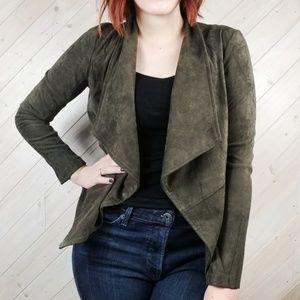 BB Dakota | Faux Suede Sweater Blazer Jacket